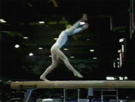 gymnastics layout gainer wogymnastika svetlana khorkina doing a g rated acro beam