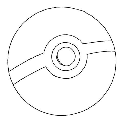 drawing of pokemon inside pokeball images sketch coloring page