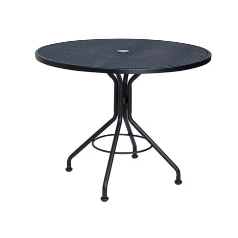 Umbrella For Bistro Table Pictured Is The Micro Mesh 36 Quot Top Bistro Umbrella Table From Woodard Outdoor Furniture
