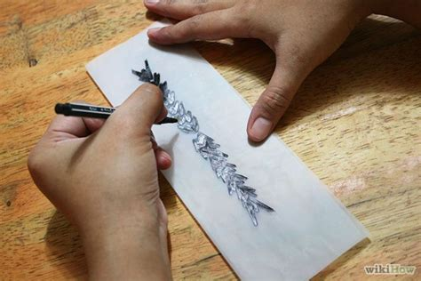 how to make tattoo ink with pen ink how to create your own temporary 8 steps wikihow