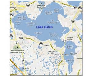 fishing for bass in big and lake harris florida