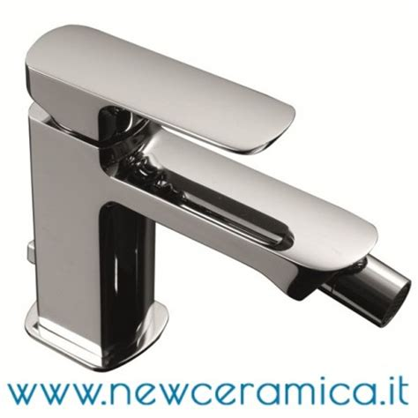 rubinetti palazzani miscelatore monocomando cromo per bidet serie mis palazzani