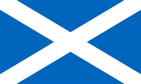 Mba Healthcare Management Scotland by Scottish Flag The Saltire Or St Andrew S Cross