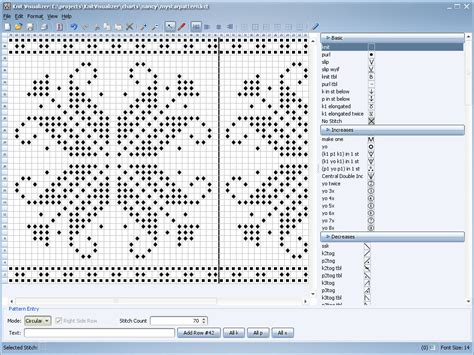 knitting pattern generator for mac knitting chart maker mac stitchmastery knitting chart