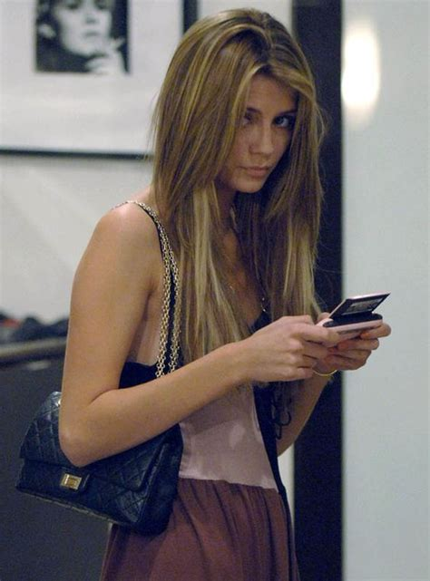 Mischa Barton In Chanel by Chang E 3 Texting And Sweet On