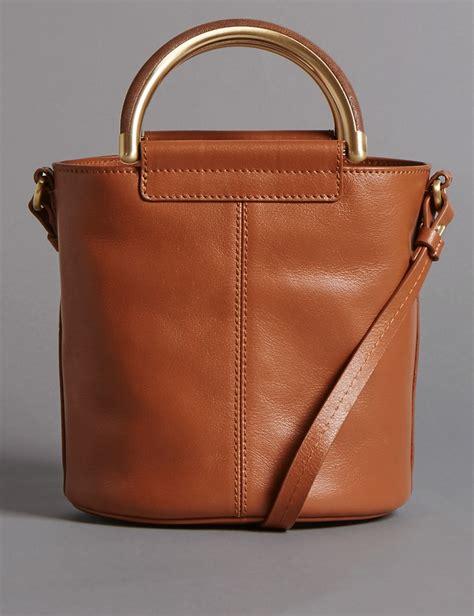 Autograph Leather Frame Bag From Marks Spencer by Leather Shoulder Bag Endource