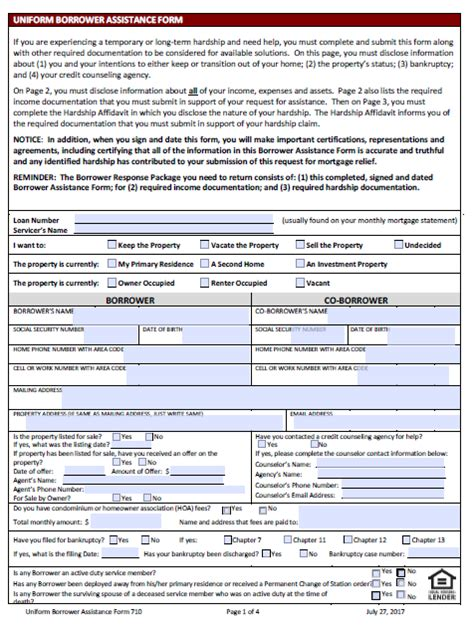 Ditech Financials Short Sale Application Forms And Packages Loan Help Loan Package Template