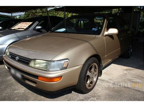 All New Corolla 1 6 Seg 1996 toyota corolla 1996 seg 1 6 in melaka automatic sedan