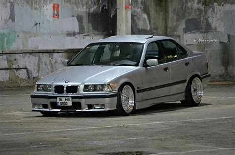 bmw e36 stanced bmw e36 3 series grey stance bmw driving