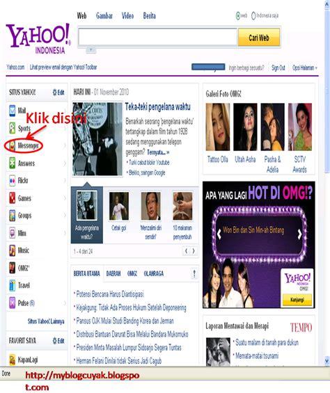 membuat yahoo massanger cara membuat yahoo messenger blog c