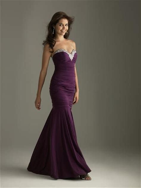 plum purple prom dress dresses purple