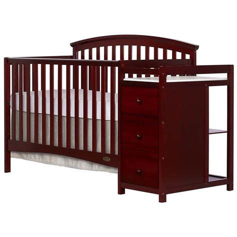 convertible crib with changer on me niko 5 in 1 convertible crib with changer in