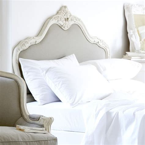 extra fluffy comforter love the headboard with white fluffy sheets and a down
