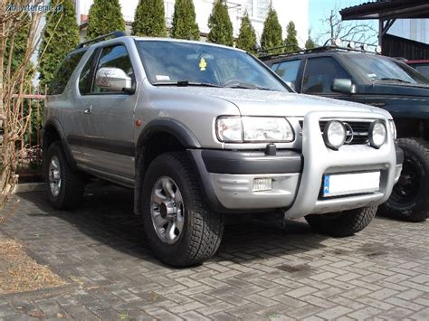 opel frontera lifted opel frontera isuzu rodeo lift zawieszenia off road