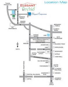 mla layout bannerghatta road location map elegant builders and developers elegant