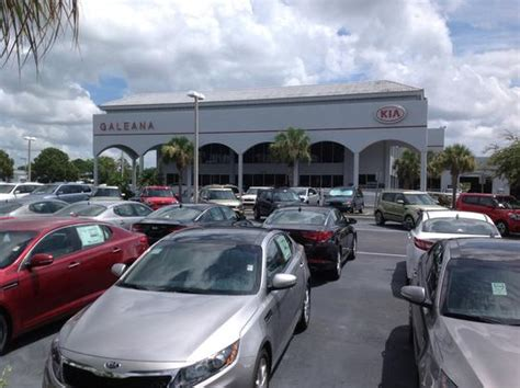 Kia Dealership Fort Myers Galeana Kia Fort Myers Fl 33912 Car Dealership And