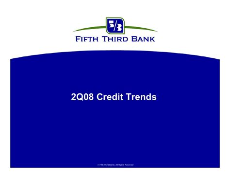 Fifth Third Bank Letter Of Credit fifth third bancorp 2q08creditrends