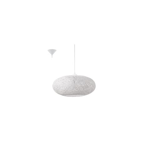 cilo eglo 1 light ceiling pendant white 93373