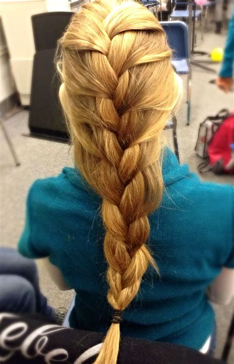 loose braids pictures loose french braid hairstyles by me pinterest
