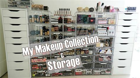james charles makeup room my makeup collection and storage youtube