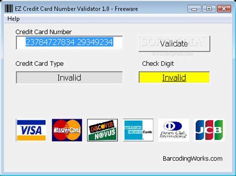 Credit Card Validation Formula Archives Panelprogram