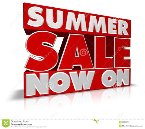 The Of The Sale summer sale now on stock illustration image of sale