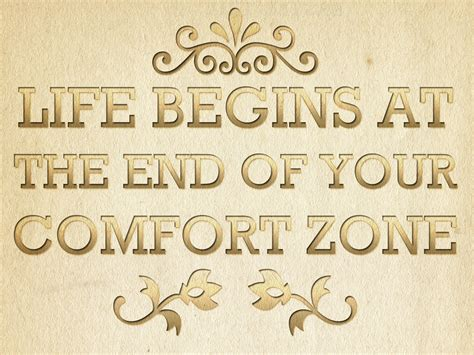 comfort in life magic happens outside your comfort zone abc of success