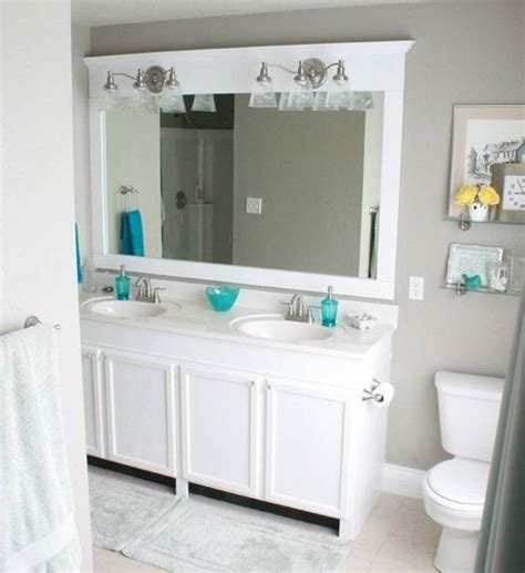 White Framed Mirror For Bathroom by Attachment White Framed Bathroom Mirror 155 Diabelcissokho