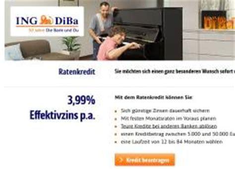günstiger kredit diba ing ratenkredit g 252 nstiger ratenkredit der direktbank