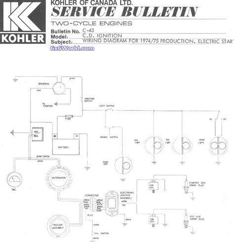 kohler engine wiring harness 28 wiring diagram images