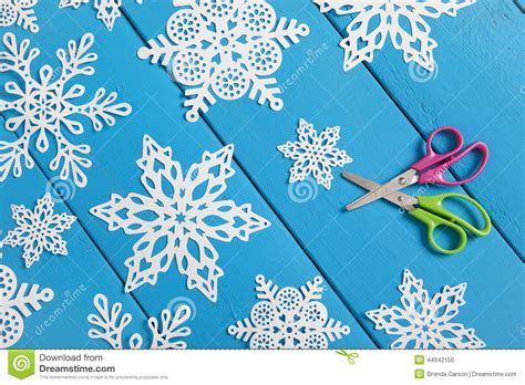 art project for italian christmas tradition snowflake paper crafts stock photo image of winter