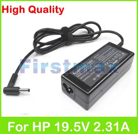 Charger Laptop Hp Compaq Envy 19 5v 2 31a 19 5v 2 31a 45w laptop ac power adapter charger for hp elitebook folio 1020 1040 g1 g2 x2 1011