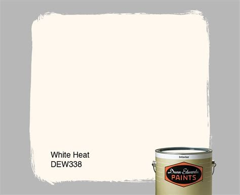 dunn edwards paints white paint color white heat dew338 click for a free color sle paint
