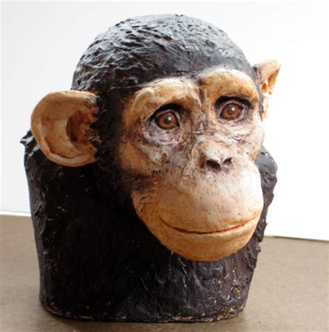 How To Make A Paper Mache Bust - painting the chimp ultimate paper mache