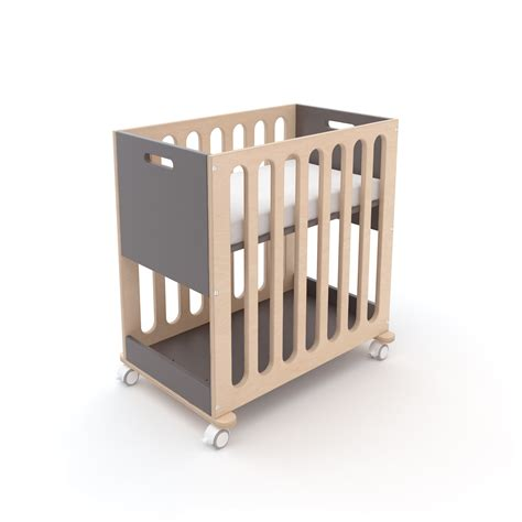 Bassinet To Crib by Oeuf Fawn Crib And Bassinet System Modernnursery