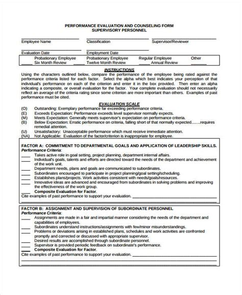 school counselor evaluation form 48 counseling form exles