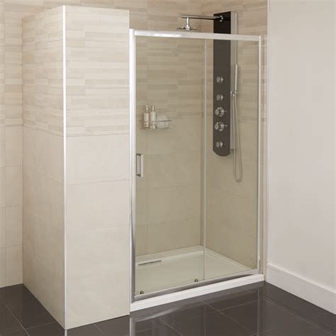 1200 Shower Door Aqualine 4mm 1200 Sliding Shower Door