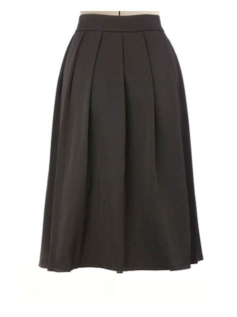 h m black pleated skirt 2014 2015 fashion trends 2016 2017