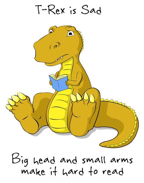 T Rex Arms Meme - sad t rex is sad pics