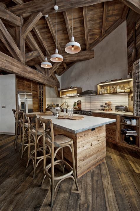 32 fabulous vintage kitchen designs to die for digsdigs 32 fabulous chalet kitchen designs to get inspired
