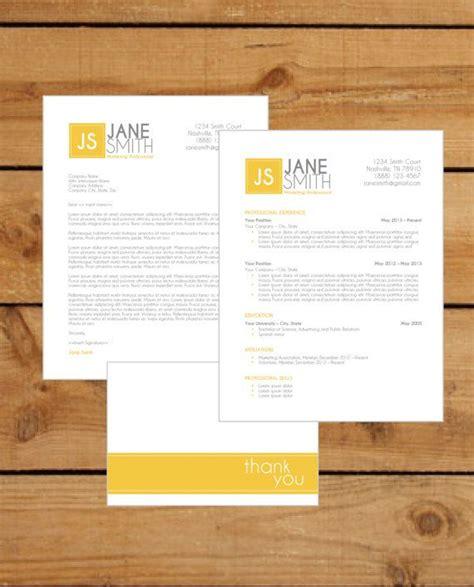 5 Letter Words Out Of Yellow resume template instant word document cover
