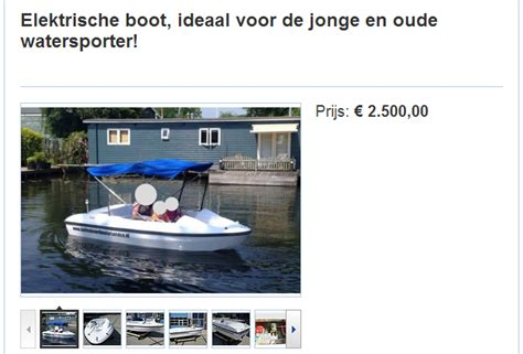 boot met electrische motor elektrische boot boot4all