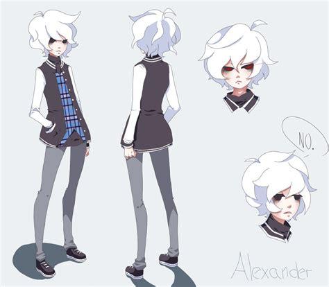 anime character sheet alexander by eeveelyne on deviantart