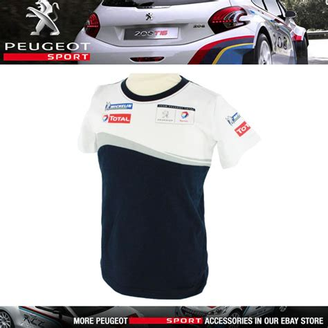 Tshirt Peugeout Sport 02 Bdc new peugeot sport rally childrens t shirt all ages