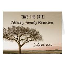 high country save the date family reunion greeting card zazzle