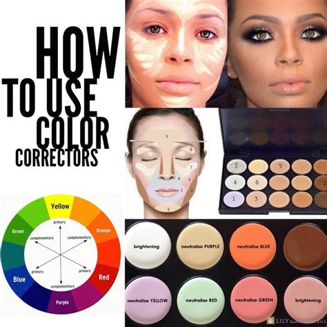 how to use color correctors basically to neutralize a