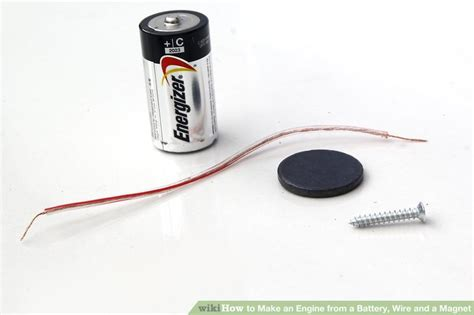 how to make a magnetic motor 3 ways to make an engine from a battery wire and a magnet