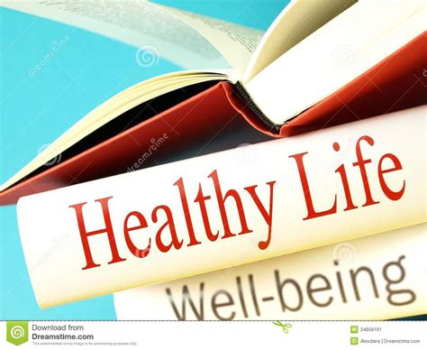 well being books health and wellbeing books stock image image 34658191
