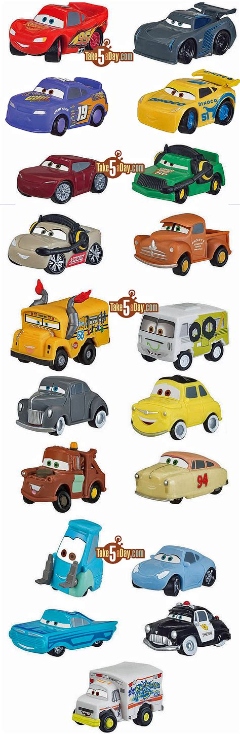 Diecast Mattel Mini Racers Cars 3 Wave 3 No 29 Florida Ramone Pink disney pixar cars 3 the new mini s mini s blind bag take five a day