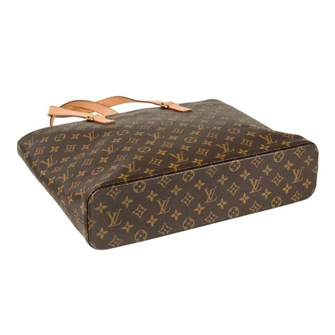estate louis vuitton large monogram tote  zipper